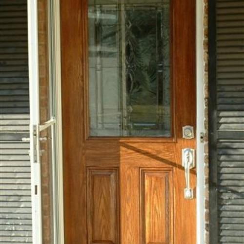 Target-Rehau fiberglass door