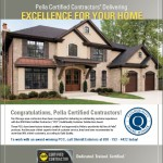 2010 GuildQuality – Pella Certified Contractor (PCC) Customer Satisfaction Award.