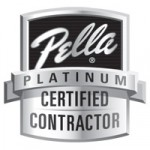 Pella Platinum Certified Contractor