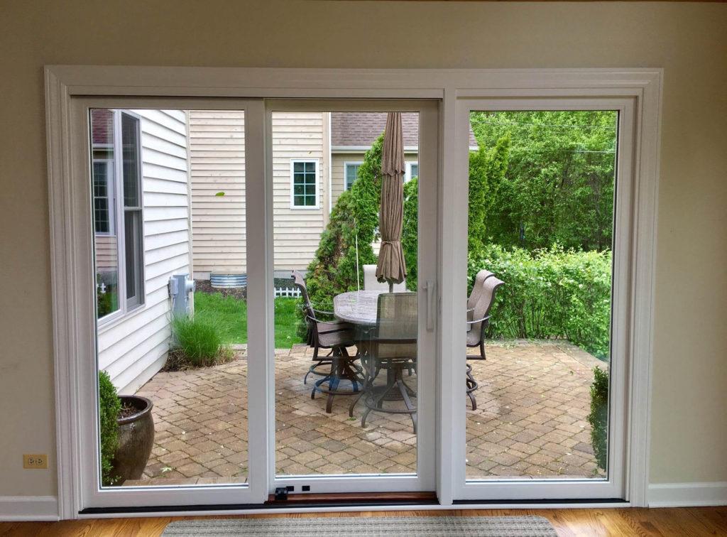 Pella Architect Series Windows And Triple Sliding Door In Wheaton